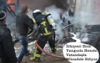 Tosya Marangozlar Sitesinde 2.Yangın