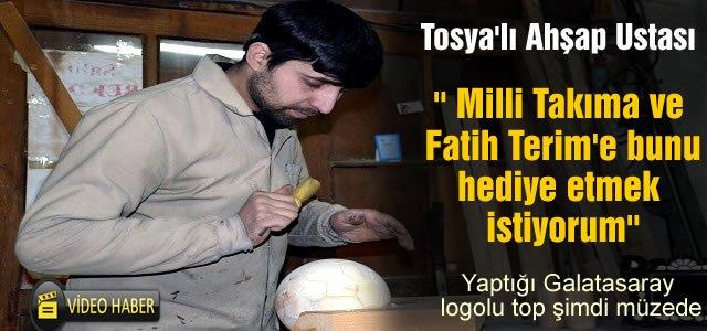 TOSYA'DAN GALATASARAY'A VE FATİH TERİM'E  İLGİNÇ HEDİYE