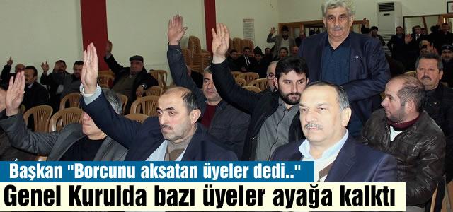 TOSYA ESNAF KEFALET KOOPERATİFİ GENEL KURUL TOPLATISI YAPTI