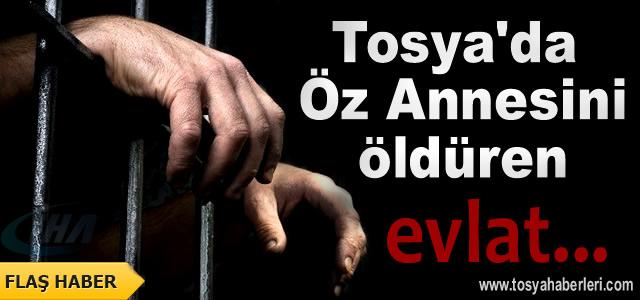 Tosya'da Annesini Öldüren Zanlıya