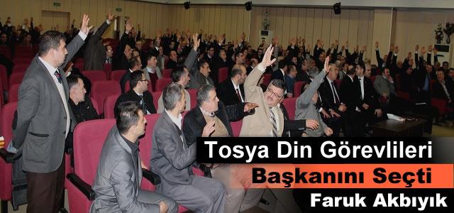 Tosya Din Görevlileri Dernek Başkanı Faruk Akbıyık