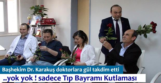 Tosya Devlet Hastanesinde Tıp Bayramı Kutlandı