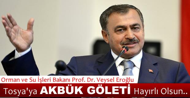 Veysel Eroğlu'ndan Tosya'ya Gölet Müjdesi