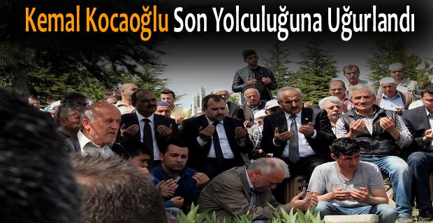 Kemal Kocaoğlu Son Yolculuğuna Uğurlandı