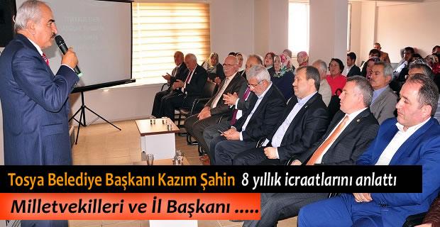 AK PARTİ KASTAMONU İL BAŞKANLIĞI DANIŞMA MECLİSİ TOPLANTISI YAPTI