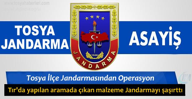 Tosya Jandarma Kaçakçılığa Geçit Vermedi