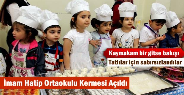 Tosya Mehmet Akif Ersoy İmam Hatip Ortaokulu yararına düzenlenen kermes açıldı