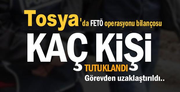 Tosya'da FETÖ Soruşturmasında 24 Kişi Görevden Alındı