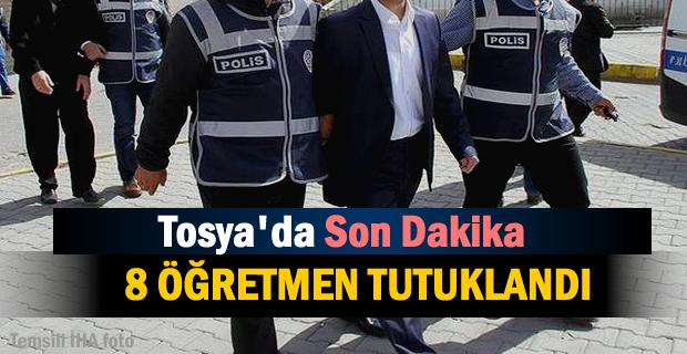 Tosya'da FETÖ Soruşturmasında 8 Tutuklama
