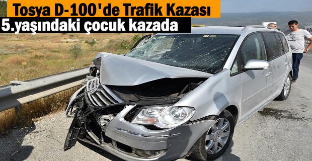 Tosya Trafik Kazası 3 Yaralı