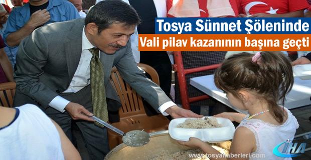 Tosya'da Toplu Sünnet Şöleni Düzenlendi