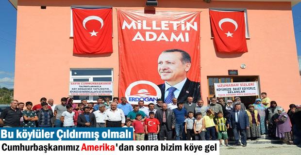 Tosya Dağardı Köyü Cumhurbaşkanı Erdoğan'ı Köylerine Davet Etti