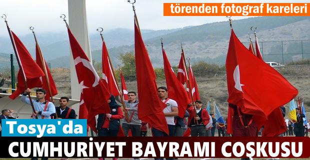 Tosya'da Cumhuriyet Bayramı Coşkusu