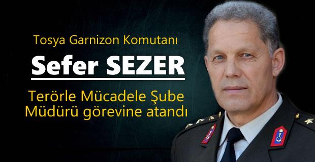 Tosya Garnizon Komutanı Terörle Mücadele Müdürü oldu