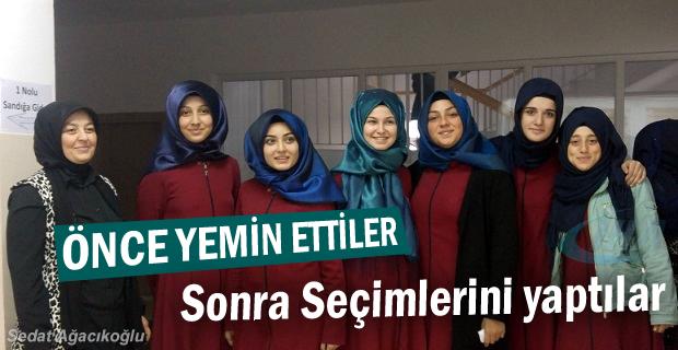 Tosya Kız Anadolu İmam Hatip Lisesi seçimin yaptı