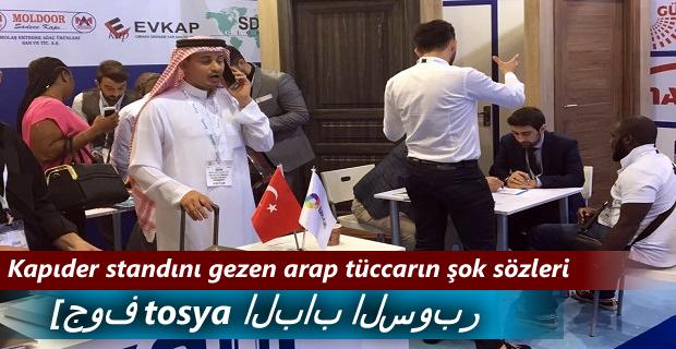 KAPIDER DUBAİ FUARINDA Bİ DÜNYA KAPI SATTI