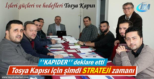 Tosya ''Kapıder'' Derneği Stratejik hedef belirledi