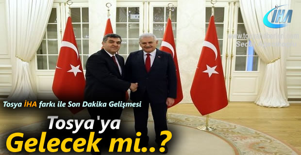 Türkiya AB temsilcisi Faruk Kaymakçı Tosya'ya Gelecek mi ? - Son Dakika Gelişmesi