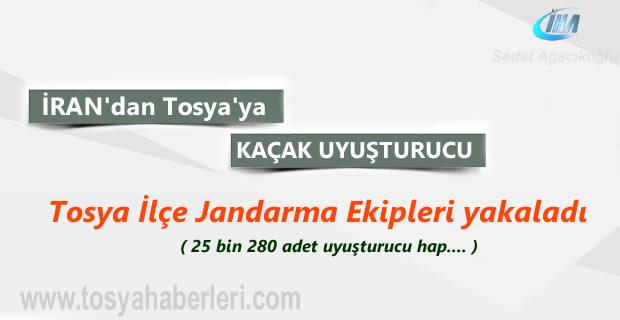 Tosya'da yakalanan İlaç Şişelerinde Uyuşturucu Ticareti Cezasız Kalmadı