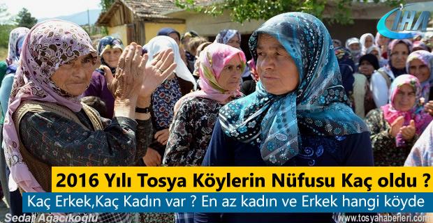 Tosya'nın Nüfus olarak En büyük köyü hangisi