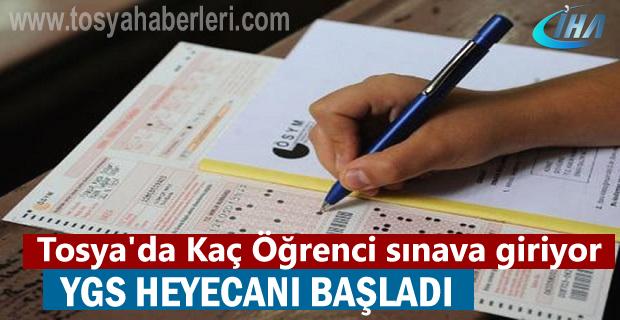 Tosya'da Kaç Öğrenci YGS sınavına girecek