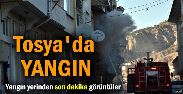 TOSYA'da YANGIN ( Son Dakika )