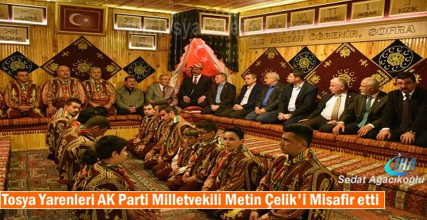 Tosya Yarenleri AK Parti Milletvekili Metin Çelik'i Misafir etti