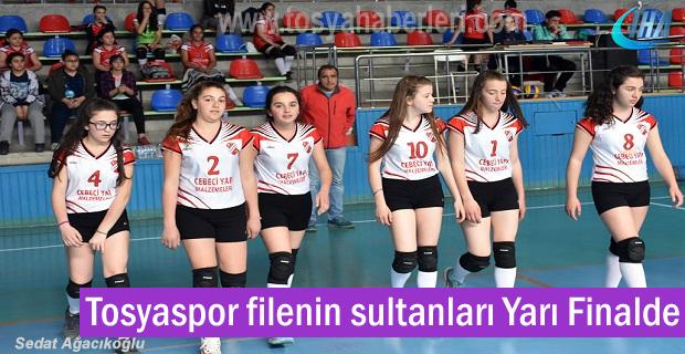 Tosyaspor Voleybol takımı filenin sultanları Yarı finalde