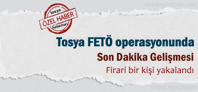 Tosya'da Fetö Opersayonunda 1 kişi yakalandı