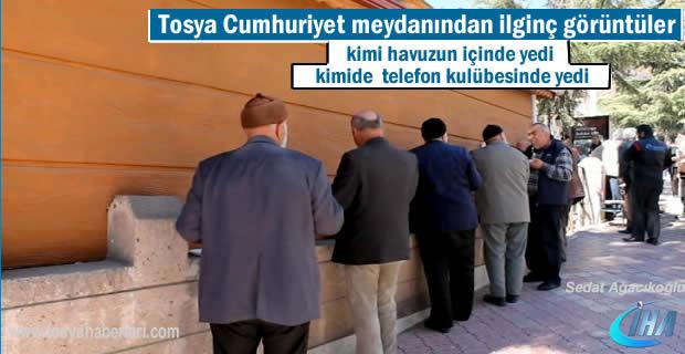 Tosya'da 5 bin kişiye pilav ikram edildi