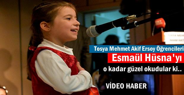 Tosya'da 40 Hadis ve Şiir Okuma Yarışması Yapıldı