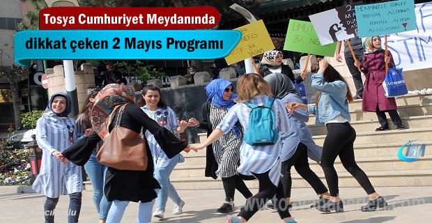 Tosya'da Astım Günü farklı kutlandı