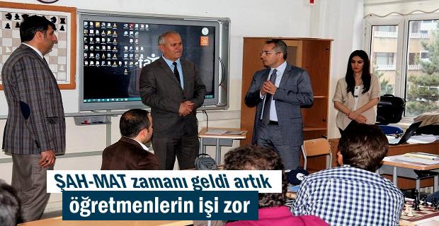 Türkiye Satranç Federasyonu Tosya'da Satranç kursu açtı