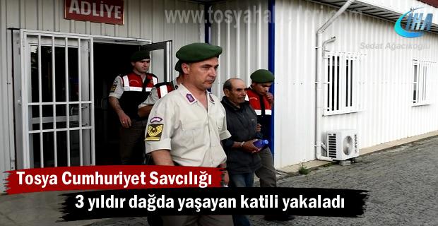 3 yıldır aranan Cinayet Zanlısı Tosya'da yakalandı (Görüntülü Haber )
