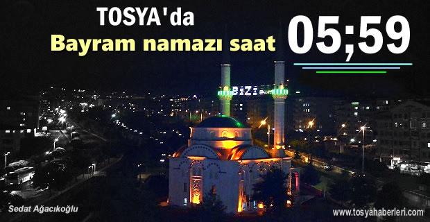 Tosya'da Bayram Namazı Saat Kaçta Kılınacak