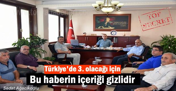 Tosya'da Pirinç İstişaret heyetiı özel gündemle toplandı