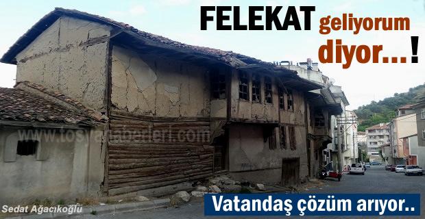 Tosya Hacıpir Mahallesinde Felaket Geliyorum Diyor
