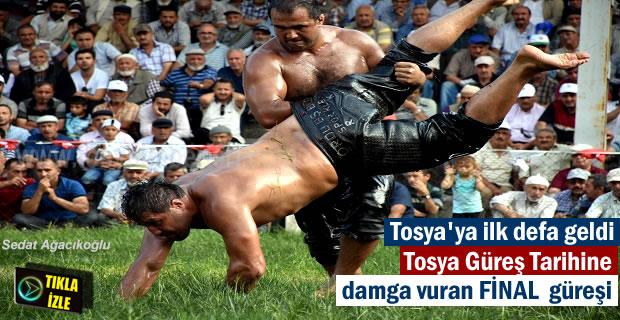 2017 Tosya Güreşlerinde Recep Kara Şampiyon oldu