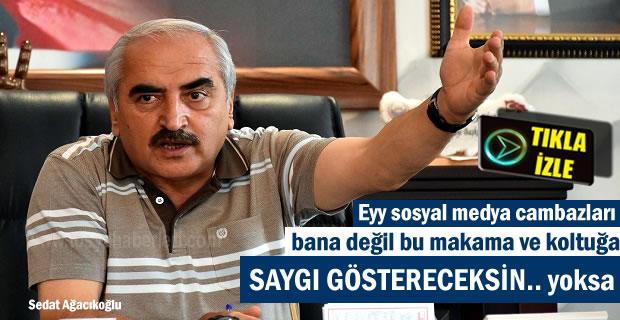 Tosya Belediye Başkanı Kazım Şahin'den önemli açıklama