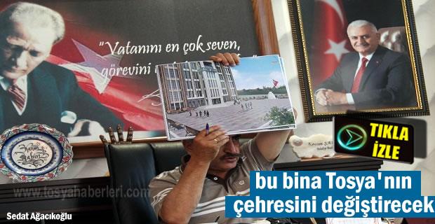 Tosya Hükümet Konağı Projesi Son şeklini aldı