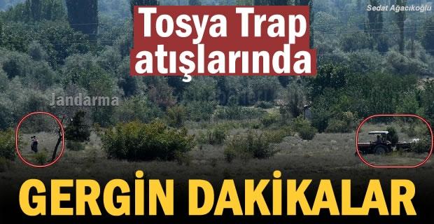 Tosya Sapaca köyünde gergin dakikalar
