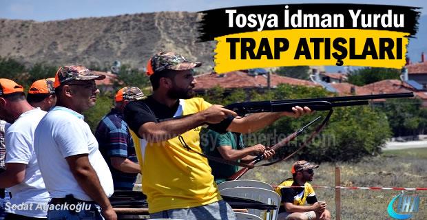 Tosya'da 350 Sporcunun katıldığı Trap atışları yapıldı