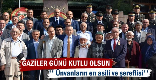 Tosya'da19 Eylül Gaziler Günü programı düzenlenen etkinliklerle kutlandı