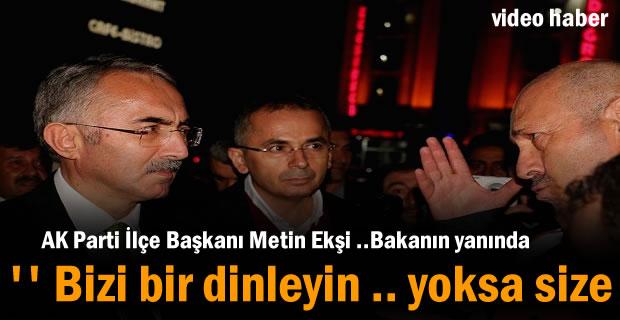 Ak Parti İlçe Başkanı Metin Ekşi Kavşak sorununu anlattı
