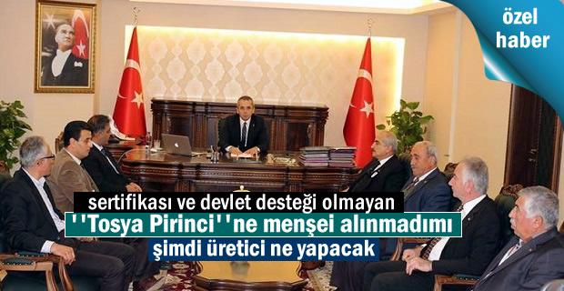 Tosya Pirinci menşei alındı fakat sorunlar devam ediyor