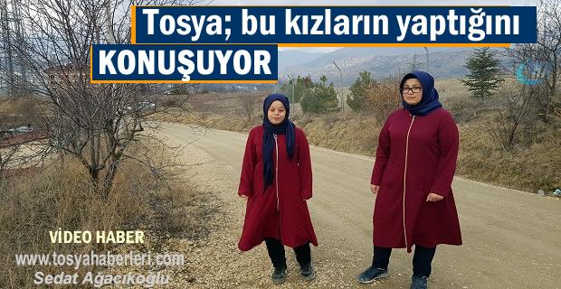 Tosya bu iki İmam Hatipli kız öğrencilerin yaptığını konuşuyor