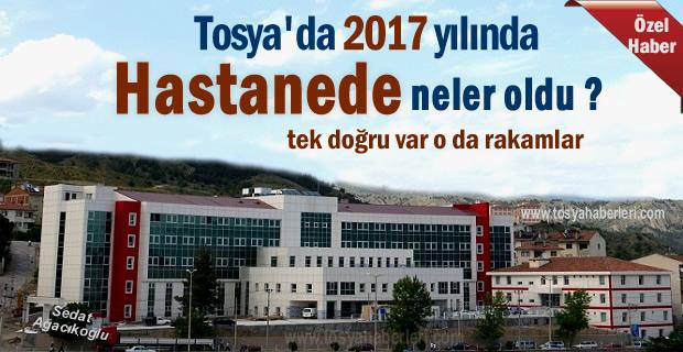 TOSYA DEVLET HASTANESİ 2017 YILI RAKAMLARI