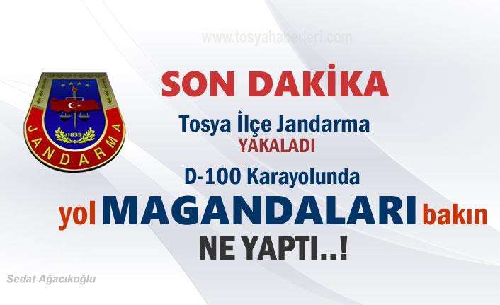 Tosya D-100'da Yol Magandaları 1 kişiyi darp etti
