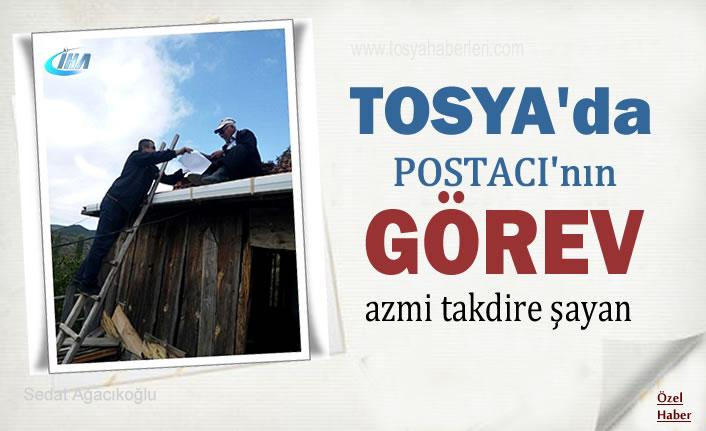 Tosya'da Postacının Görev Azmi