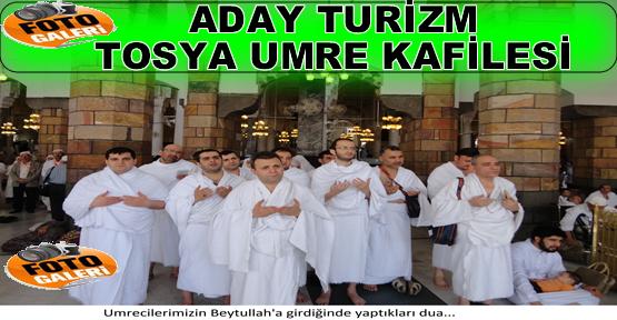 Aday Turizm Tosya Umre Kafilesinden Fotograflar